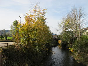 Rench - Image: Rench river in Oppenau