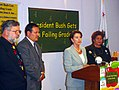 Rep Pelosi press conference Report card on Bush administration education funding Photo1.jpg