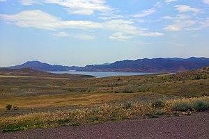 Zəngilan - Image: Reservoire Khudapherin (Khoda Afarin), 2014.05.09 panoramio