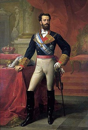 Carlos Luis de Ribera y Fieve - Amadeo I of Spain, depicted wearing the uniform of a captain general and wearing the collar of the Order of the Golden Fleece by Carlos Luis de Ribera y Fieve, Bank of Spain
