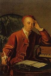 A painting of Handel by Philip Mercier (c.1730) (Source: Wikimedia)