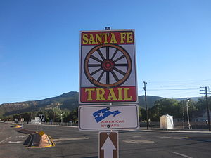 Raton, New Mexico - Santa Fe Trail in Raton