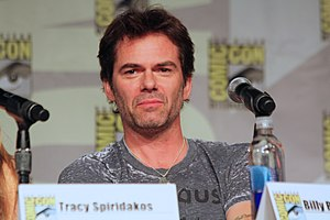 Billy Burke (actor) - Image: Revolution Panel (9353614314)