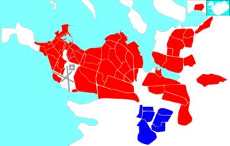 Breiðholt - Image: Reykjavík map (D06 Breiðholt)