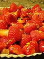 Rhubarbed Strawberry Daiquiri Vegan Tart Before Baking (4922763076).jpg