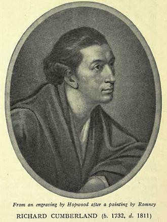 Richard Cumberland (dramatist) - Image: Richard Cumberland playwright