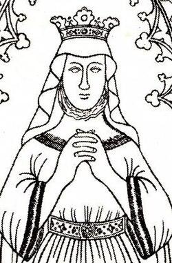 Richeza of Sweden (1210) effigy (drawing c 1860).jpg