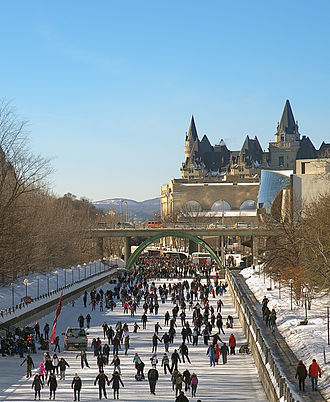 National Capital Commission - Rideau Canal Skateway