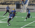 Rifles first down 1693 Hilltop playoff game.jpg