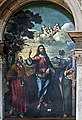 Right transept of Santi Giovanni e Paolo (Venice) - Christ between Sts Peter and Andrew by Rocco Marconi.jpg