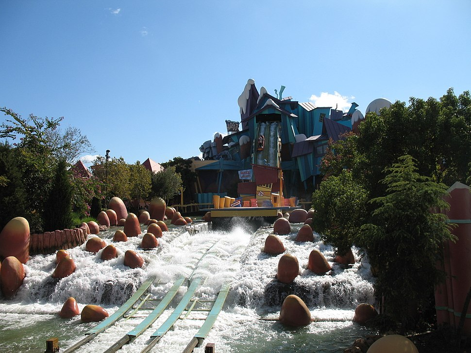 Ripsaw Falls at Islands of Adventure
