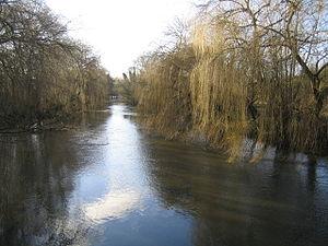 Uxbridge Moor - Image: River Colne in Uxbridge Moor geograph.org.uk 317488