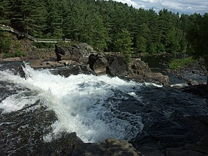 L'Assomption River - Assomption River at Chutes Monte-à-Peine Park in Matawinie Regional County Municipality