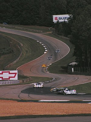 Road Atlanta - The esses during practice for the 2006 Petit Le Mans.