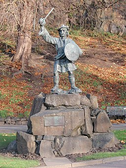 Rob Roy's statue - geograph.org.uk - 1049178