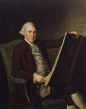 Robert Adam - Portrait attributed to George Willison, c. 1770–1775