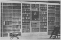 Robert Burton's library, Christ Church Library, Oxford, Cushing's Life of William Osler.png
