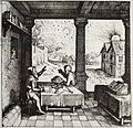 Robert Fludd's An Astrologer Casting a Horoscope 1617.jpg