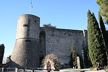 The Venetian Tower in the Rocca.