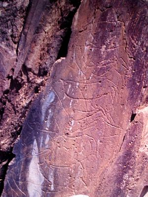 Prehistoric Rock-Art Site of the Côa Valley - Animal sketches on the granite stones of the Penascosa Prehistoric Site