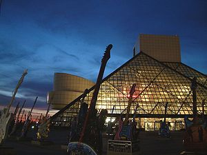 The Rock and Roll Hall of Fame, Cleveland, Ohio