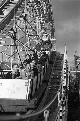 New Zealand Centennial Exhibition - Roller coaster