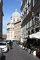Rom, die Straße Via Santa Prassede.JPG
