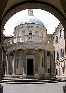 templet de san pietro in montorio viquipèdia l enciclopèdia lliure