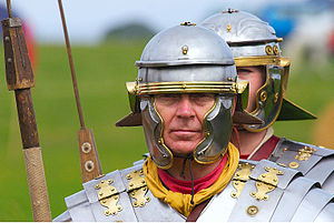 This is a roman soldier of the I century B.C.