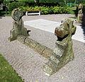 Romansk gravvård vid Husaby kyrka 6060.jpg