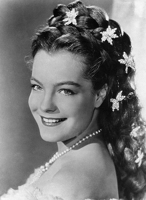 Romy Schneider 1955