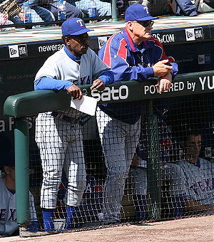 Art Howe - Howe along with Ron Washington while with the Texas Rangers in 2007.