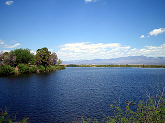 Graham County, Arizona - Roper Lake, south of Safford.