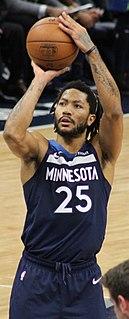 Derrick Rose American basketball player