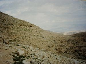 Route romaine de Jérusalem à Jéricho (aussi au...
