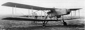Royal Aircraft Factory N.E.1 - The first prototype N.E.1 in its original configuration, with a searchlight in the nose