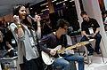 Rozzi Crane & Cary Singer at NAMM, Behringer booth, 2014 NAMM Show (2014-01-24 15.04.17).jpg