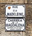 Rue de la Madeleine (Toulouse) - Plaques.jpg