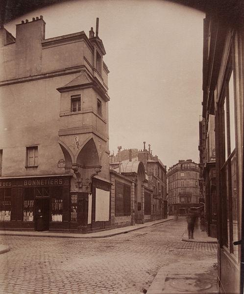 Fichier:Rue des Francs-Bourgeois 1899.jpg