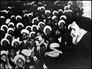 Ayatollah - Grand Ayatollah Ruhollah Khomeini in Qom, 1964
