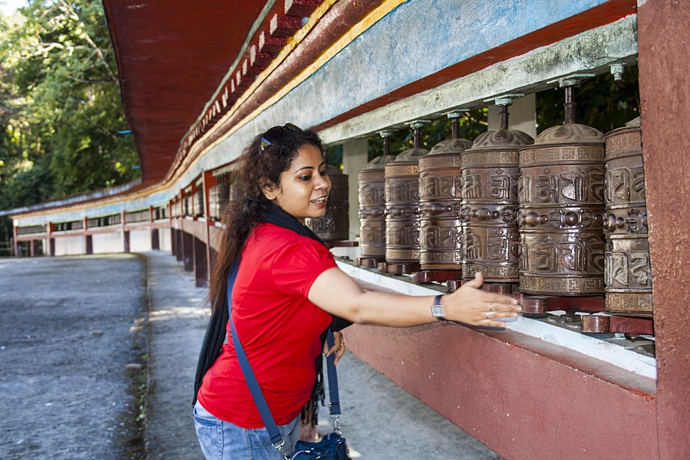 Rumtek Monastery - Prayer Wheel