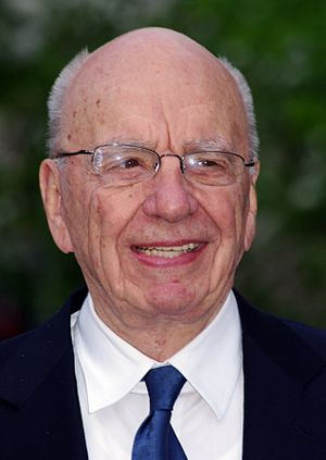 English: Rupert Murdoch at the Vanity Fair par...