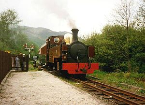 Portmadoc, Beddgelert and South Snowdon Railway - Russell on the Welsh Highland Heritage Railway