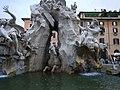 Rzym - Fontanna 4 Rzek - panoramio.jpg