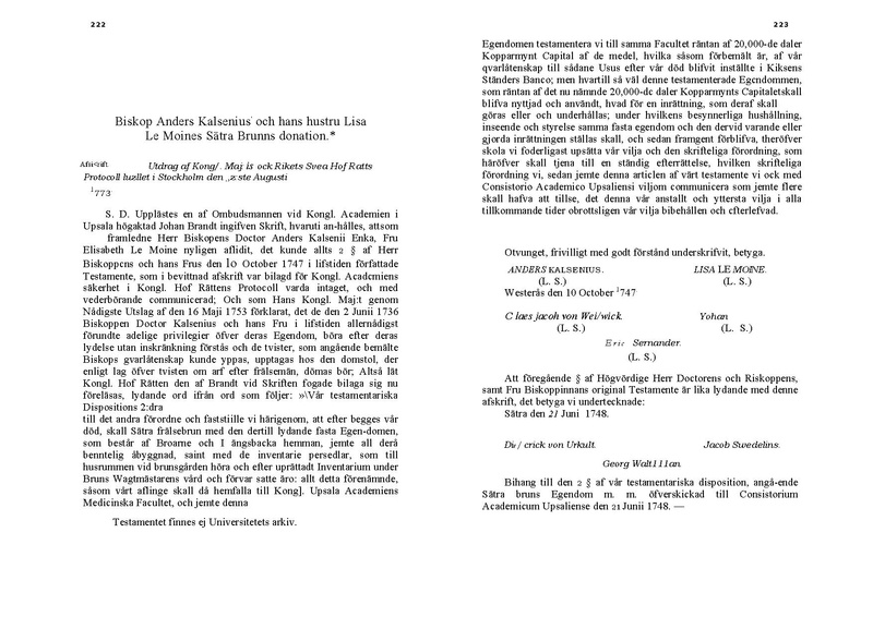 File:Sätra brunns donationbrev 1747.pdf