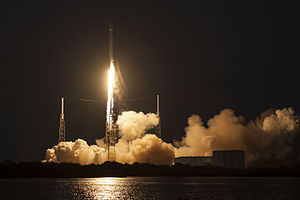 SES-9 - Falcon 9 Flight 22 launching on 4 March 2016, carrying SES-9