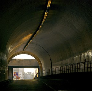 Broadway Tunnel (San Francisco) - Image: SF Broadway Tunnel