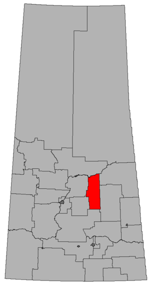 Melfort (provincial electoral district) - Image: SK 2016 Melfort
