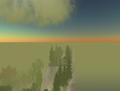 SL - ciel et château virtuels en journée.png