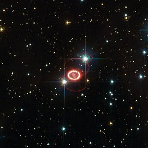 SN 1987A - Image: SN 1987A HST